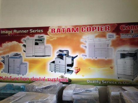 Fotocopy CANON Batam Backdrop